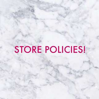 Store Policies