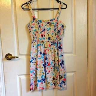Floral Corset Dress