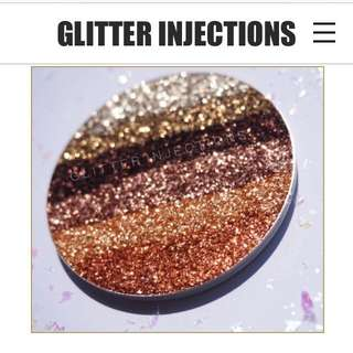 GLITTER INJECTIONS PREORDER!!! (TOASTED RAINBOW)