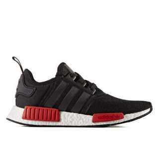 Selling Adidas NMD R1 Black/Red