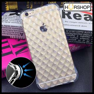 iPhone 6+ 6s+ Ani Knock Case Casing Silicone