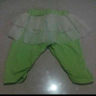 tutu leggings neon color