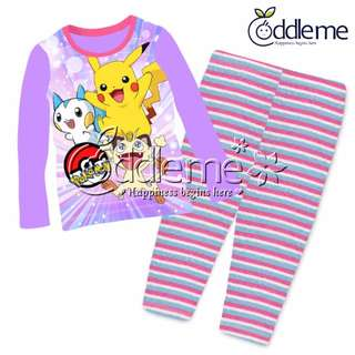 0b46ba9152  10 Free Normal Mail Pokemon Design Pajamas  Sleepwear  Pj