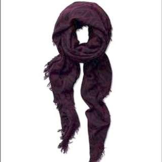 Wilfred Pop art Blanket Scarf (red)