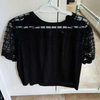Black Short Shirt