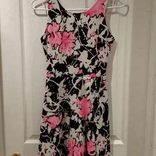 Floral Eclipse Dress (XS)