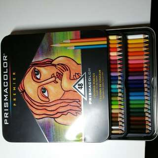 Prismacolor 48 Set With Tin
