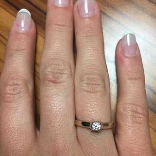 Reserved: 14k Diamond Ring