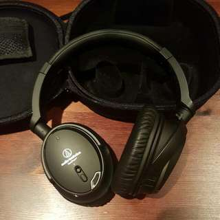 Audio-Technica ATH-ANC9 QuietPoint Active Noise Cancelling Headphones