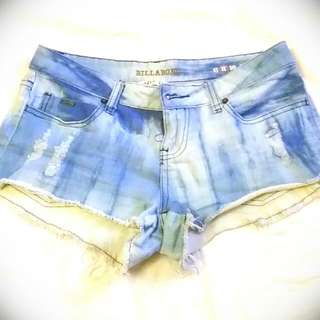 Billabong Blue Dye Shorts