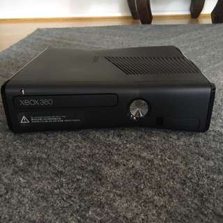A Xbox360 with no controller or games