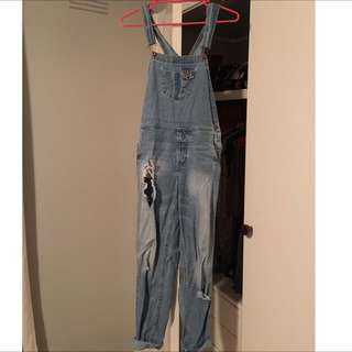 Jay Jay's Denim Overalls Size 8