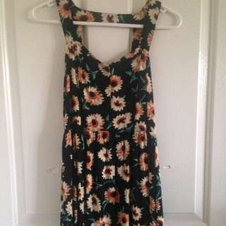 Sunflower Beach Dress