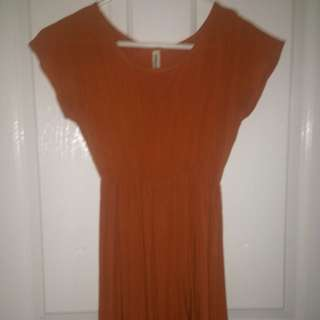 Orange All About Eve Dress