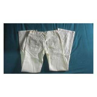 Bossini white jeans