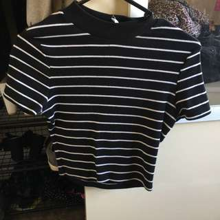 Supre Crop Top Size Small