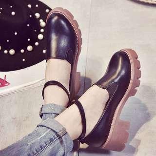 粗跟瑪莉鞋
