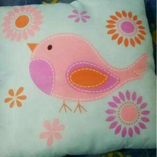小鳥圖案抱枕