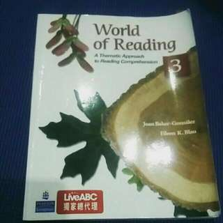 World of Reading 3:A Thematic Approach to Reading Comprehension