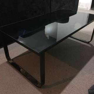 Glass Black Table