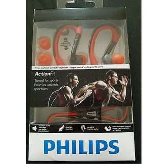 Philips Earphone Action Fit