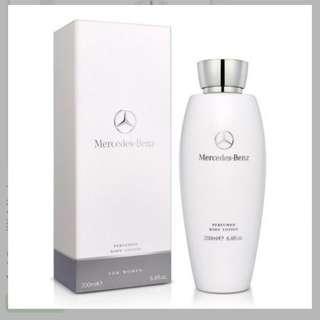 Mercedes Benz 賓士 白色浪漫 女用身體乳