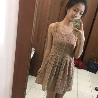 Dress Dusty Pink Lace