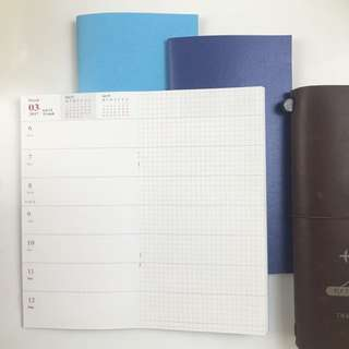 Travel Notebook Regular Size Inserts