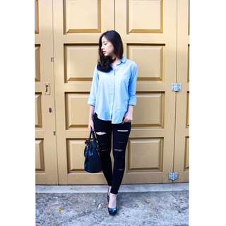 Local Brand Ripped Jeans (Wida Jeans)