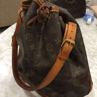 Authentic Vintage Louis Vuitton Noe Bag