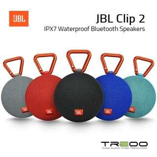 JBL Clip 2 Bluetooth IP-X7 Waterproof Speaker (CNY 2018 Promo!)