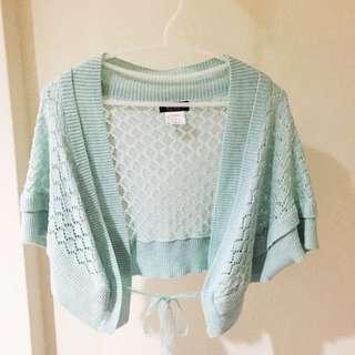 Wanko 粉藍針織外罩(含運
