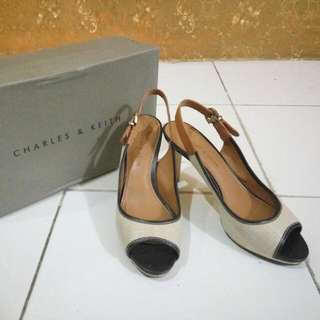 Charles N Keith Colour Taupe