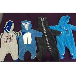 Onesies assorted