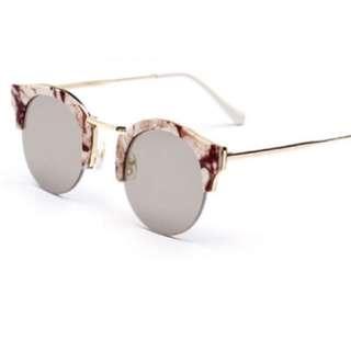 Patterned Frameless Sunglasses