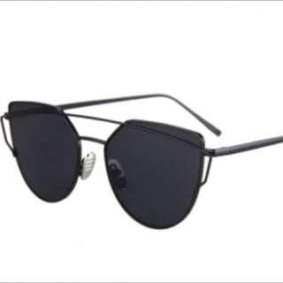 All Black Everything Sunglasses