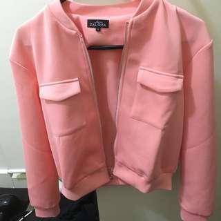 Zalora Pink Jacket