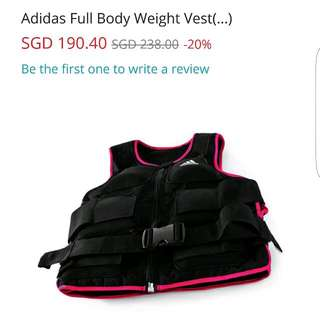 (60% OFF) Adidas Full Body Weight Vest