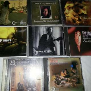 Cd's Assorted Opm&foreign Cds