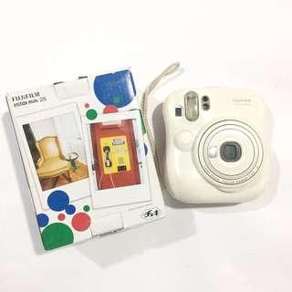 Fujifilm Instax Mini 25 White Instant Camera (Broken)
