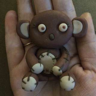 Polymer Clay Koala/Teddy