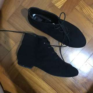 Black Flat Shoes Made In Korea