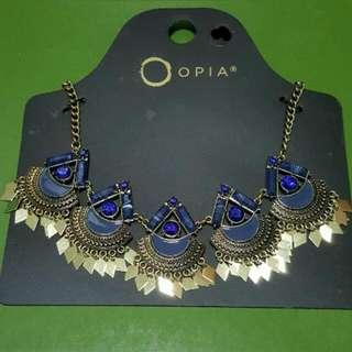 OPIA Bohemian Short Necklace