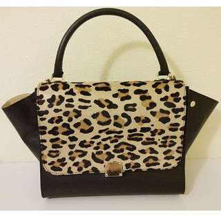 Genuine Leopard Leather bag