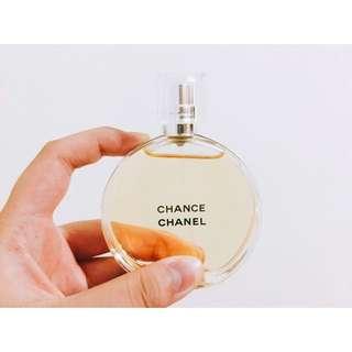 (降價)香奈兒-CHANCE邂逅 女性淡香水(第一代)橙50ml