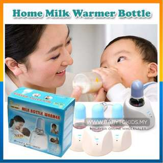 Portable Baby Bottle Warmer Heater Infant Milk Bottle Thermostat Sterilizer Botol Susu Pemanas