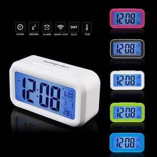 LED Alarm Clock With Temperature Checker