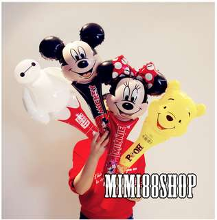 Large Hand Balloon for Children Party - Sold in Set of 4pcs