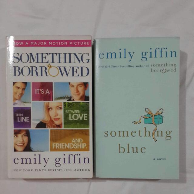 2 Books by Emily Giffin