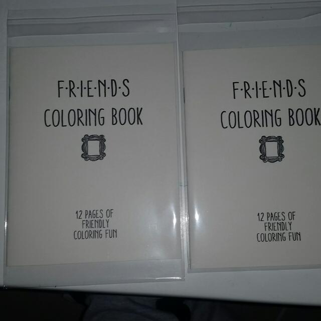 2 Friends Colouring In Books.